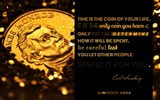 Title:Time is the coin of your life-Text Artistic Design HD Wallpaper Views:766