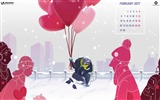 Title:Balloons-February 2017 Calendar Wallpaper Views:1435