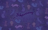 Title:Febpurrary-February 2017 Calendar Wallpaper Views:1529