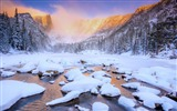 Title:Lakes cold earth trees mountains-Scenery HD Wallpaper Views:784