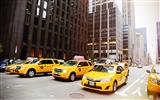 Title:New York street cabs taxis-Cities Photography HD Wallpaper Views:516
