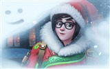 Title:mei overwatch winter wonderland-2017 Game Posters Wallpaper Views:323