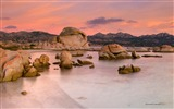 Title:Beach Rock Sunset-Italy Peninsula Sardinia Scenery Wallpaper Views:768