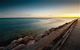 Title:Bridge boards wooden horizon-High Quality Wallpaper Views:1035