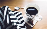Title:Cup coffee towel spoon-High Quality HD Wallpaper Views:710