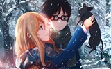 Title:Kaori miyazono kousei arima-High Quality HD Wallpaper Views:954