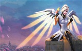 Title:Mercy overwatch artwork-2017 Game HD Wallpaper Views:706