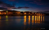 Title:Palau port night lights-Italy Peninsula Sardinia Scenery Wallpaper Views:747