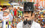 Title:Pernambuco Giant dolls in the Olinda Carnival-2017 Bing Desktop Wallpaper Views:290