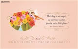 Title:Happy Birthday Hans-April 2017 Calendar Wallpaper Views:890
