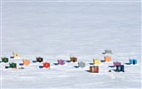 Title:Que Overhead of ice fishing huts in Anse-St-Jean-2017 Bing Desktop Wallpaper Views:448