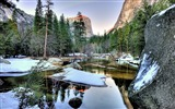 Title:Winter Yosemite Lake-Windows 10 Desktop Wallpaper Views:633