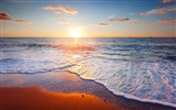 Title:Beach sunrise morning-Nature Scenery Wallpaper Views:790