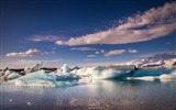 Title:Iceland glacier lagoon-Scenery Photo HD Wallpaper Views:845