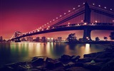 Title:Manhattan suspension bridge-High Quality Wallpaper Views:1028