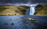 Title:Skogafoss waterfall iceland-Scenery Photo HD Wallpaper Views:310