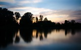 Title:Body of water during sunset-Scenery High Quality Wallpaper Views:776