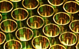 Title:Gold pipes circles shapes-2017 High Quality Wallpaper Views:203