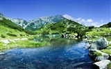 Title:Towering mountains travel Nature theme wallpaper 08 Views:77
