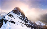 Title:Towering mountains travel Nature theme wallpaper Views:369