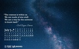Title:We Are All Made Of Star Stuff-July 2017 Calendar Wallpaper Views:119