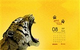 Title:Let Us Save The Tigers-August 2017 Calendar Wallpaper Views:419