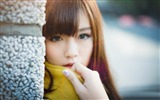 Title:Asian Young Girl Face-Model Photo Wallpaper Views:386