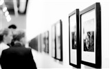 Title:Black and white art museum-Design HD Wallpaper Views:72
