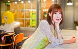 Title:Cafe pure and beautiful Chinese girl photo Views:519