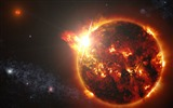 Title:Powerful megaflares-Universe HD Wallpapers Views:169
