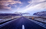 Title:Skaftafell iceland road-Scenery HD Wallpaper Views:415