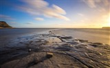 Title:Dorset england bay sea sunset-2017 High Quality Wallpapers Views:107